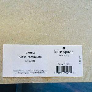 kate spade Accessories - Kate spade Dahlia placemats